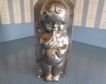 Kewpie Doll by Weygandt #195 Vintage Metal Candy Mold