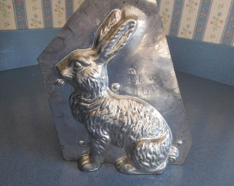 Classic Hare by Eppelsheimer  #4602/51 Vintage Metal Candy Mold