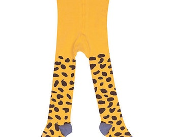 Leopard Tights for baby