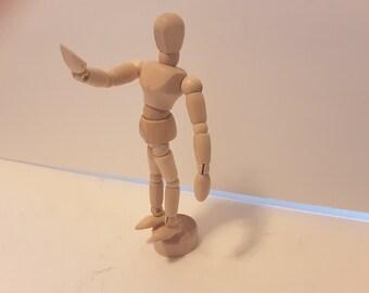Dancing fool 2..wooden artist model