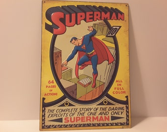 Superman! Tin sign