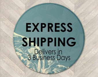 Express Shipping - 3 Business Days