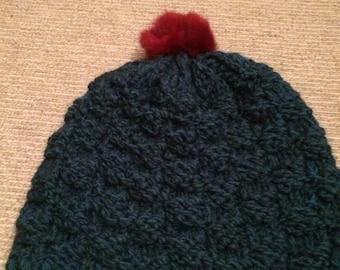 Handmade winter hat