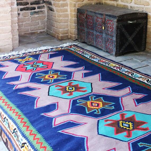 """11' X 5'5"""" Vintage Handwoven moroccan Kilim rug, moroccan Kilim rug,Highest quality vintage kilim rug on etsy vintage old kilim rug ,kelim"""