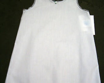 Girls cotton A-line slip great for EASTER
