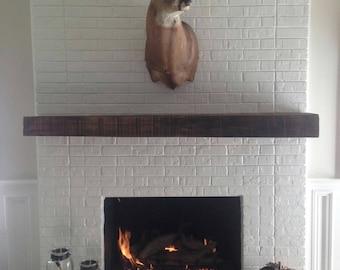 Reclaimed, mantle, fireplace mantles, oak, re purposed wood,