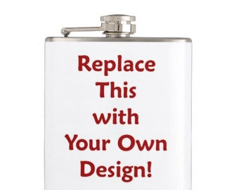 Create Your Own Custom Personalised Hip Flask
