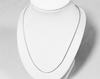Guarantees the originality (45cm) 925 sterling silver chain