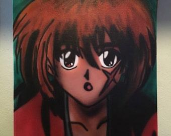 Rurouni Kenshin Canvas Painting