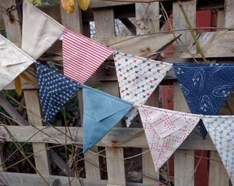 Airplane bunting for boys - Handmade bunting, flags or banner for child's bedroom, baby shower, nursery