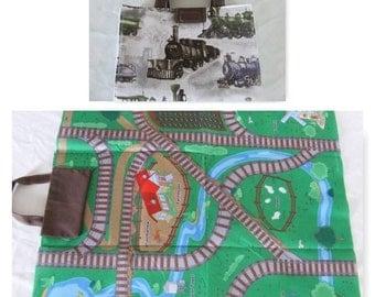 Take Along Train Mat