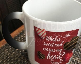 Color-Changing Ceramic Mug (Pick-Up Lines) 11 oz. (Add Your Photo or Personal Message)