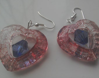 Heart shaped earrings