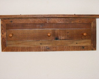 Rustic Hall Coat Rack