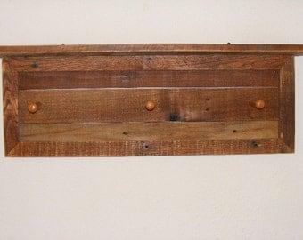 Rustic Hall Coat Rack