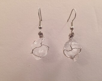 Clear Quartz Earrings