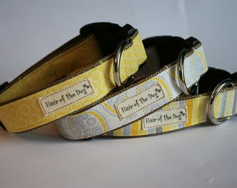 Hair of the Dog Collars- Sunshine Collection