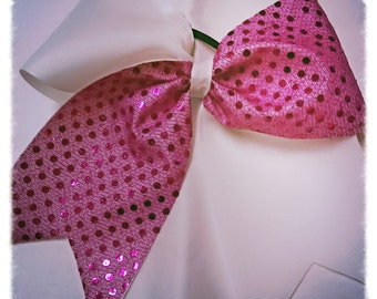 Tick tock cheer bow