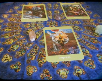 Mind, Body and Spirit Tarot Reading - Emailed.