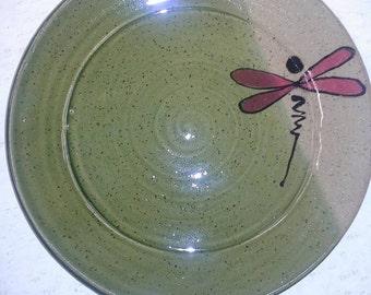 Dragonfly dinner plates