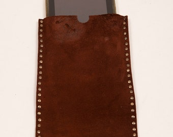 Brown distressed leather sleeve for Samsung Galaxy Tab Pro 12.2 tablet sleeve