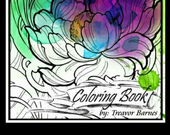 Flora and Fauna Coloring Book