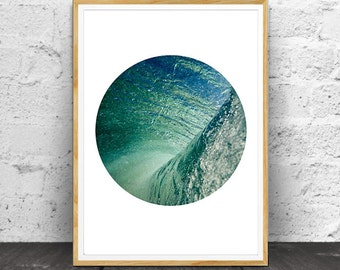 Ocean Waves, Ocean Water, Ocean Waves Print, Ocean Photography, Ocean Wall Art, Ocean, Water Print,  Wall Art, Ocean Print Art, Ocean Print