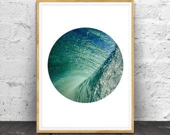 Ocean Waves, Ocean Water, Ocean Waves Print, Ocean Photography, Ocean Wall Art, Ocean, Water Print,  Wall Art, Ocean Print Art, Ocean Print