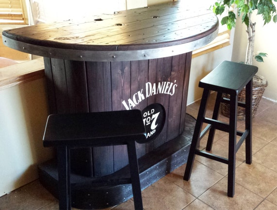 SOLD Jack Daniels home bar custom hand built rustic whiskey : il570xN8973716216s9a from www.etsy.com size 570 x 434 jpeg 61kB