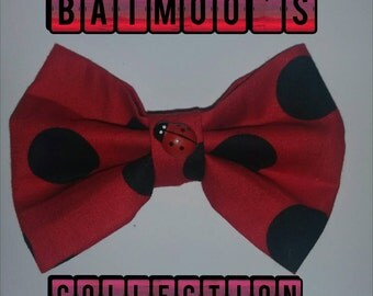 Lady Bug: Made to order Hair Bows