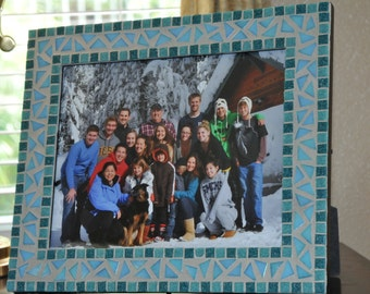 8X10 Mosaic Picture Frame