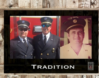 Inspirational Poster for Fire Department Decor