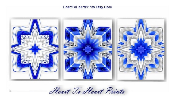 royal blue white rustic wall decor navy by hearttoheartprints. Black Bedroom Furniture Sets. Home Design Ideas