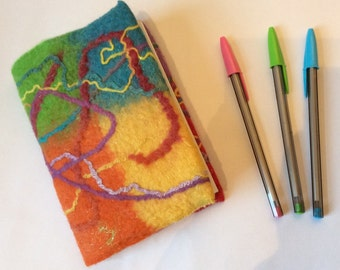 How to Felt a Notebook Cover - Detailed Written and Video Tutorial Download