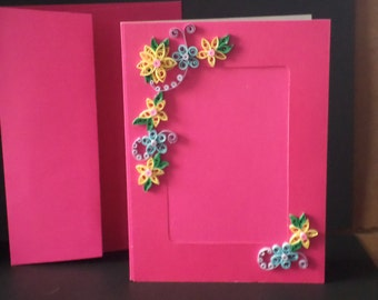 Photo frame card