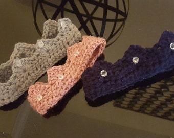Crochet crown/tieria