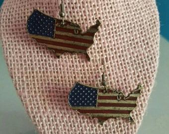America Vintage Earrings