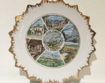 Colorado Ceramic Souvenir Plate