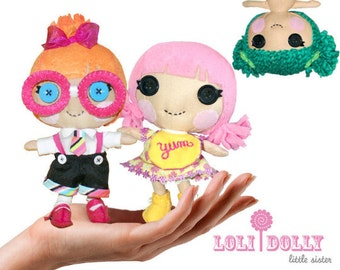 Pattern: Loli Dolly Little Rag Doll - BUNDLE