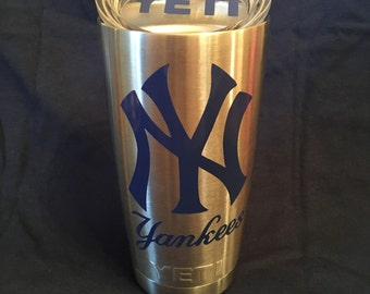 Yankees Decal Etsy - Custom vinyl decals nyc