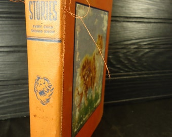 vintage book Dog Stories A book of Famous Dogs 1937