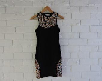 Limited edition NASTY GAL x MINKPINK black sequin dress