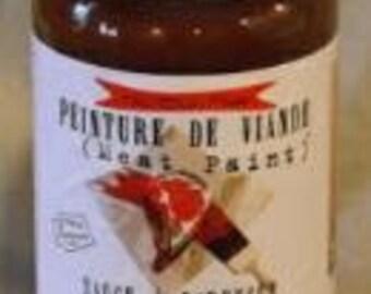 Meat Paint, Handmade BBQ Sauce