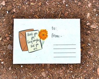 You Are Everything Plantable Card