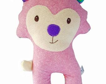Lambie stuffed animal / lambie plushie / lambie softie / baby toy / nursery accesories / oveja  peluche / oveja trapo / muñeco oveja / lamb