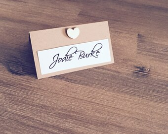 Wedding Engagement Table Place Card