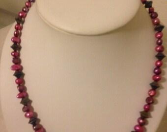 Berry Wine Necklace