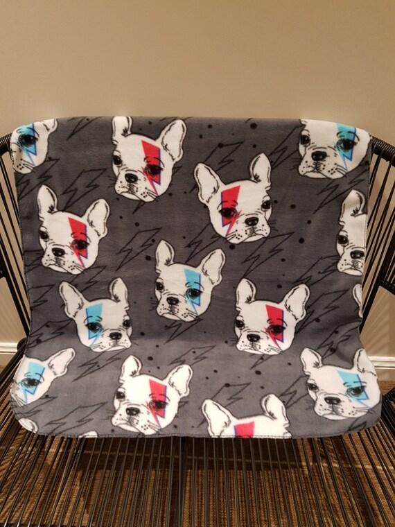 Handmade Fleece Pet Blanket Dog Blanket Pet Blanket French