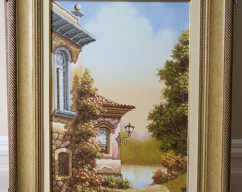 Original oil painting -Hand painted by professional artist!
