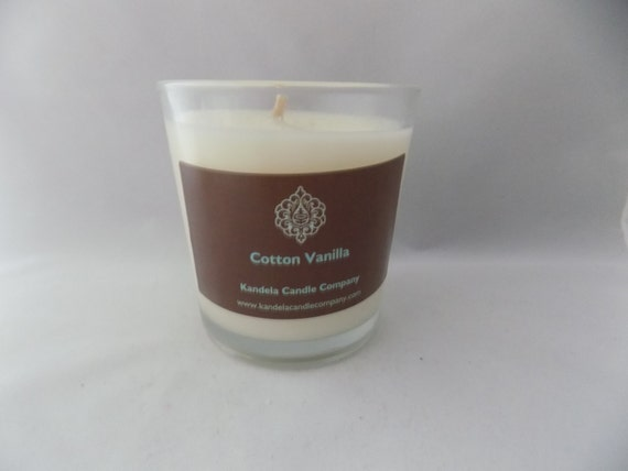 Vanilla Cotton Scented Candle in 13 oz. Classic Tumbler Jar